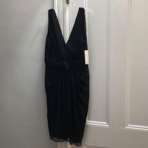 Badgley Mischka Black fully lined cocktail dress